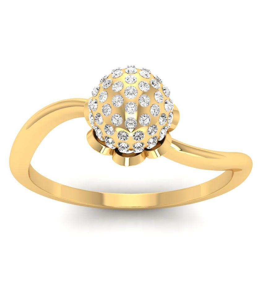 Jewels5 Beautiful Gold Ring: Buy Jewels5 Beautiful Gold Ring ...