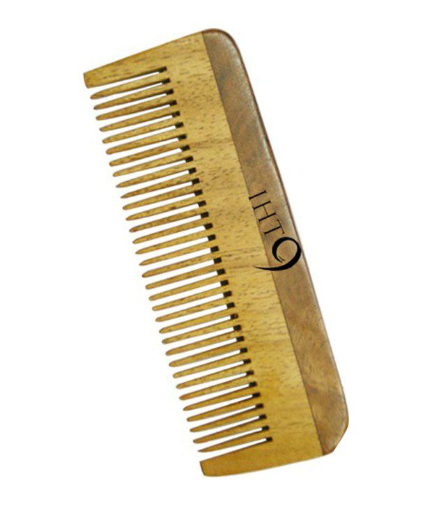 Lass Naturals Iht 9 Neem Wood Comb Lc3 1 Pc