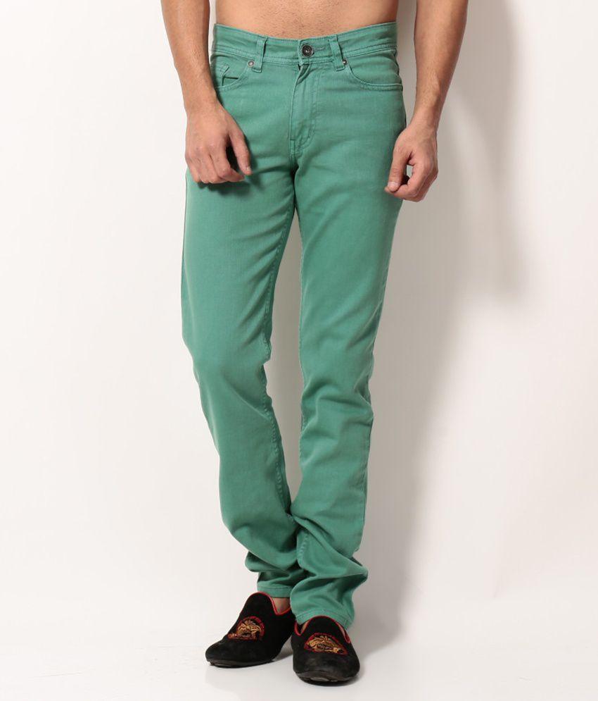 Monte Carlo Green Regular  Jeans