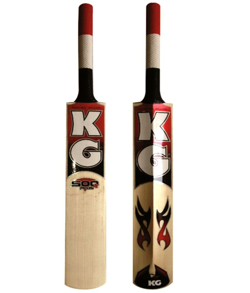 f1a68fd03 KG 500 Plus English Willow Cricket Bat  Buy Online at Best Price on ...