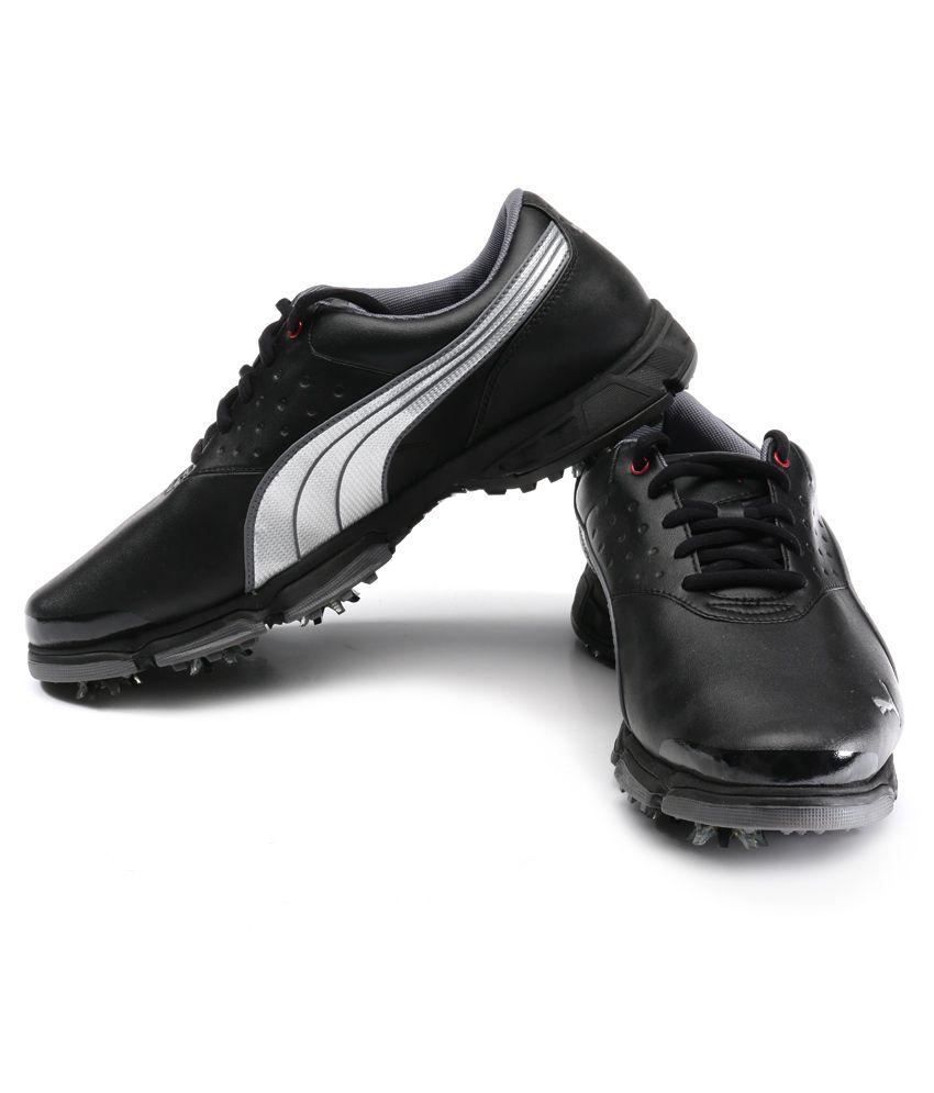 Amp Sport Xw Black Golf Shoes