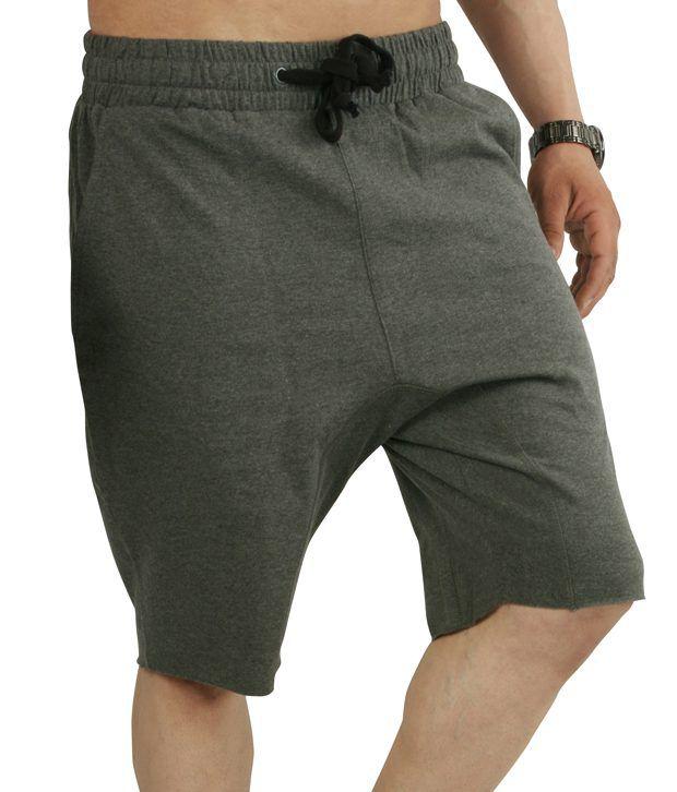 Sapphire Green Cotton Solids Shorts