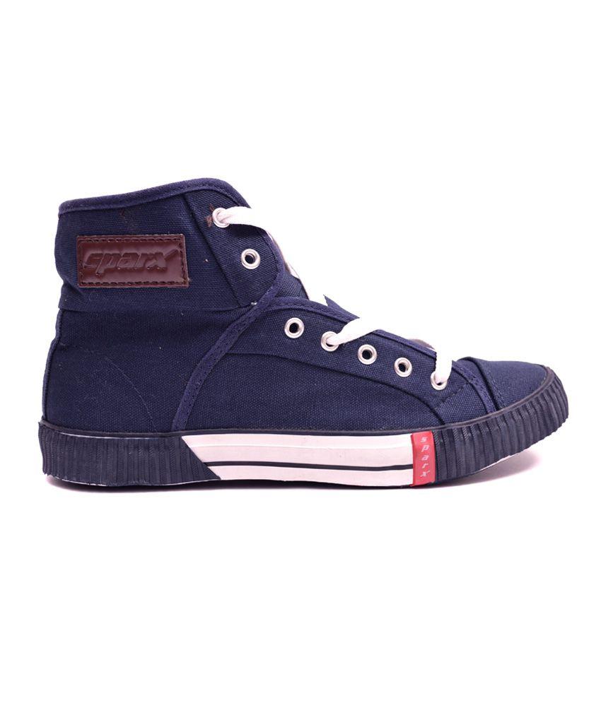 Sparx Blue Sneaker Shoes - Buy Sparx