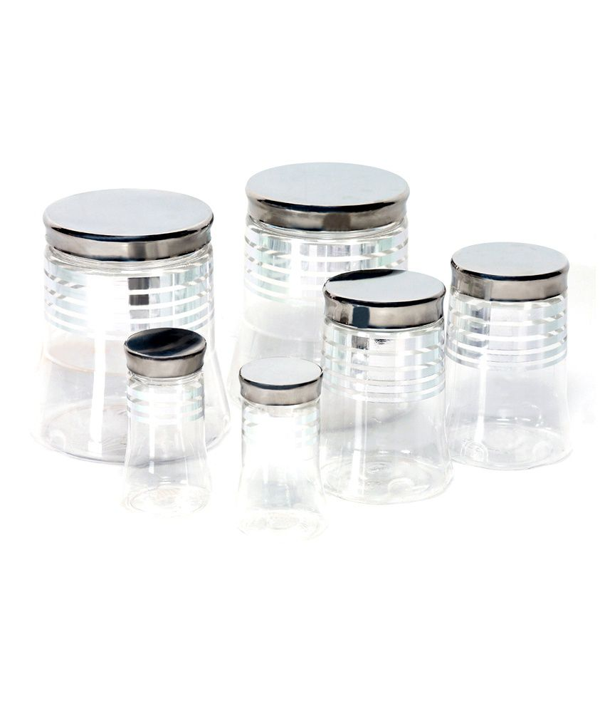 efd0952dfa4 Steelo 6 pcs PET Container Set- 300ml x 2