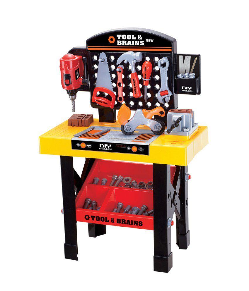 Tool Amp Brains Mechanics Bench Repair Child Tool Kit Game