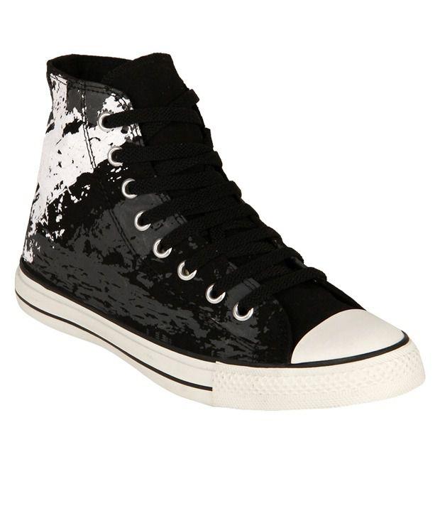 Converse Black Canvas Shoes