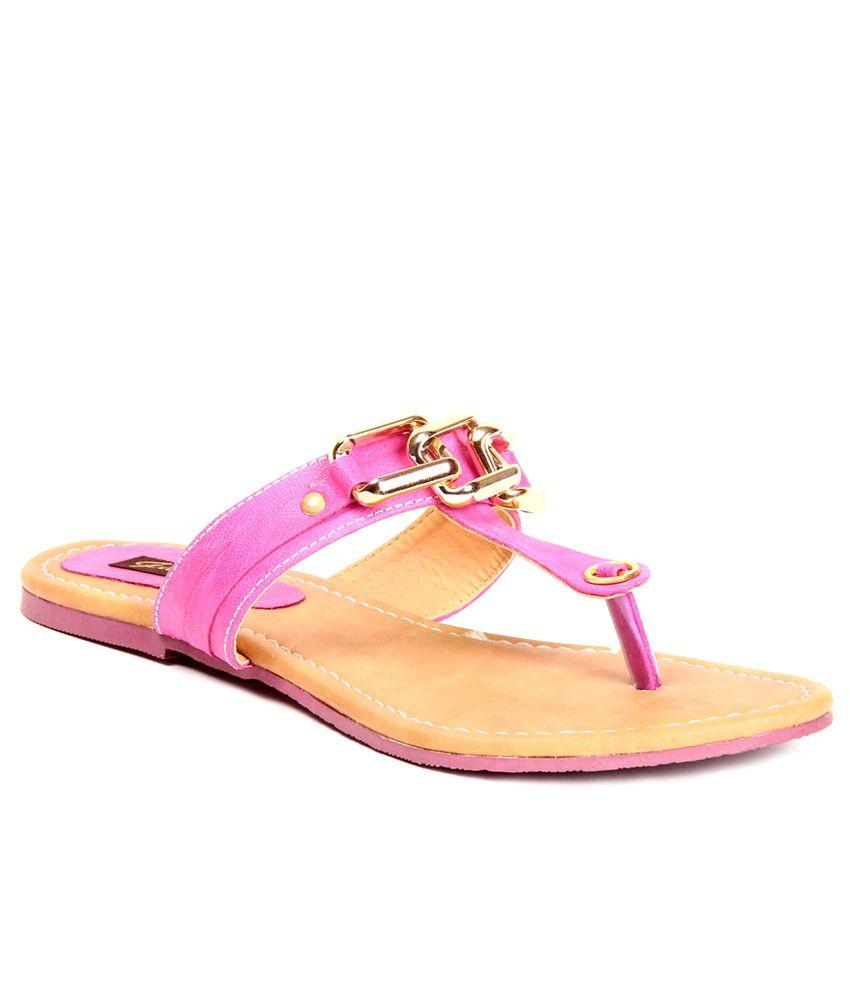 Gudiya Pink Flat