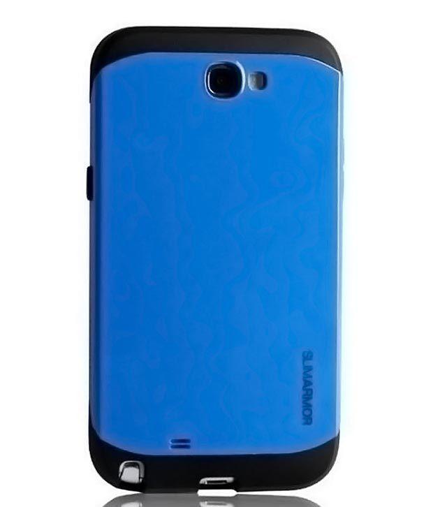 best sneakers df28e 123cf CDS Samsung Galaxy Note 2 II N7100 Hard Back Spigen Sgp Slim Armor Case blue