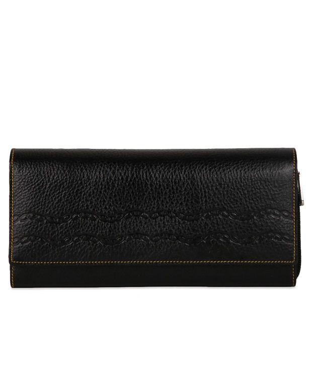 Oleva Black Leather Casual Women