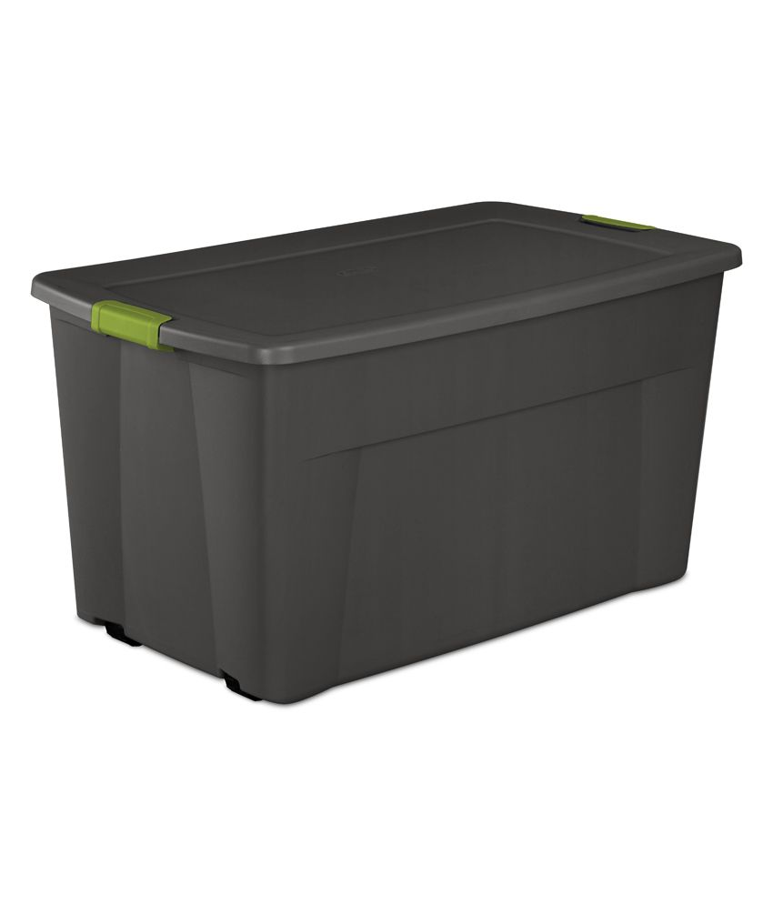 Sterilite 45 Gallon Wheeled Latch Tote Container Buy