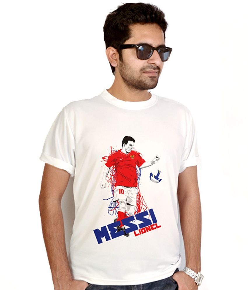 Bluegape Messi In Action T-Shirt