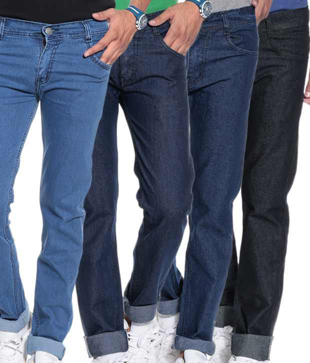 Coaster Combo Of 4 Muti Color Stretchable Jeans for Men - Buy ...
