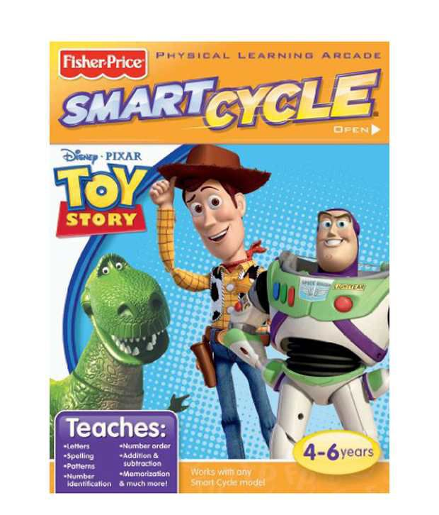 Fisher Price Smart Cycle Software - Disney Toy Story ...