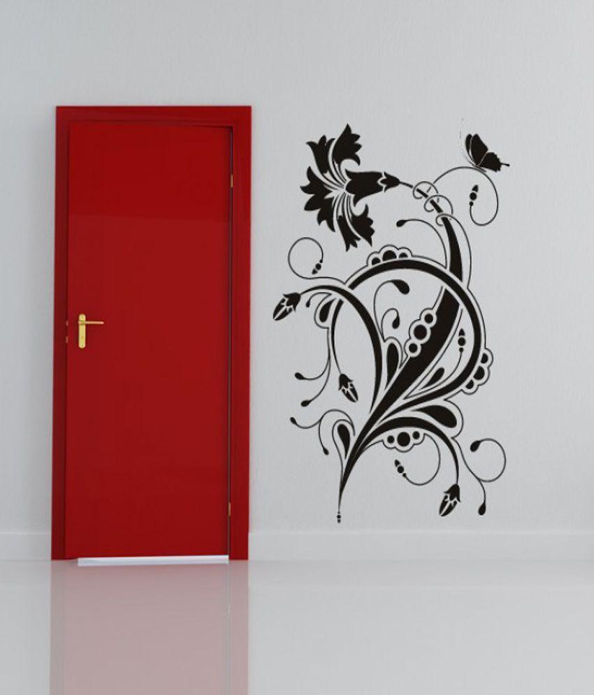 DeStudio Floral Design Wall Art Sticker wall One Wall Art