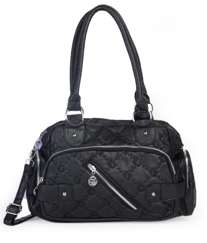 ADISA B0420 Black Handbags