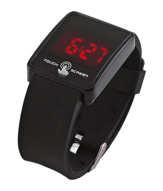 Black Touch Screen Led Watch Buy Black Touch Screen Led