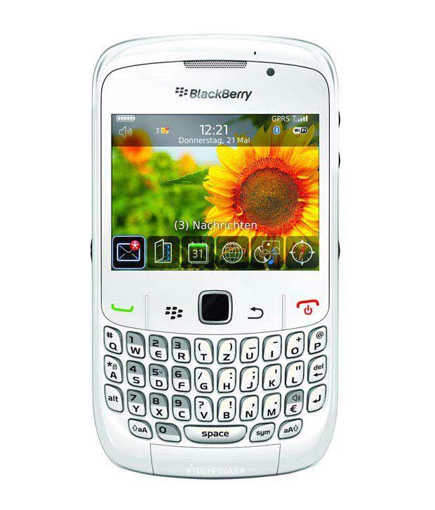 BlackBerry 8520 Curve Mobile Smartphone (White)