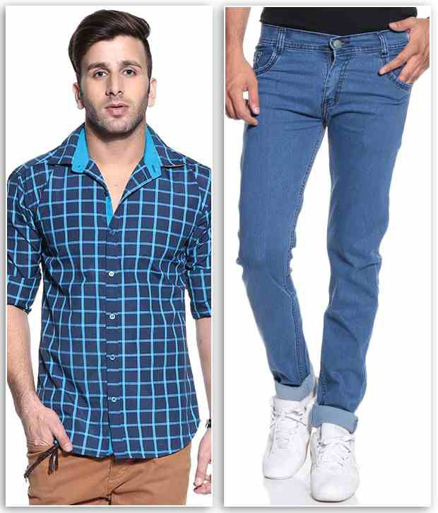 Coaster Combo of Jeans and Shirt for Men - Buy Coaster ...