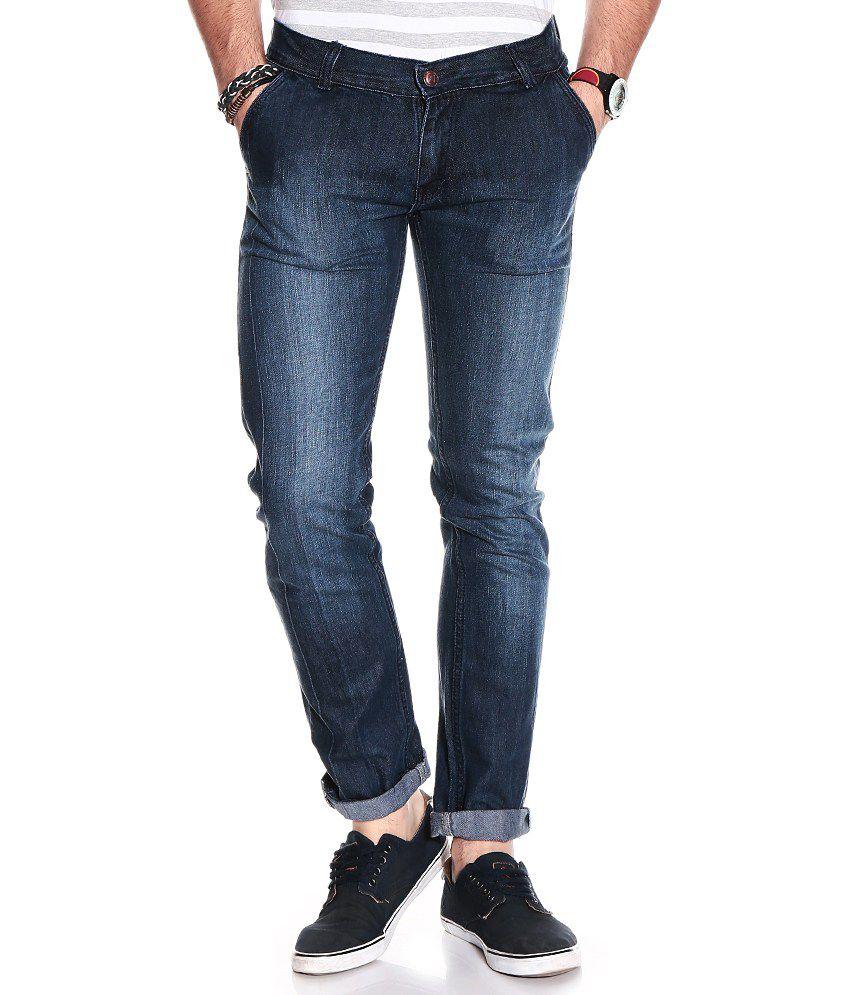 D.Coral Black Cotton Jeans