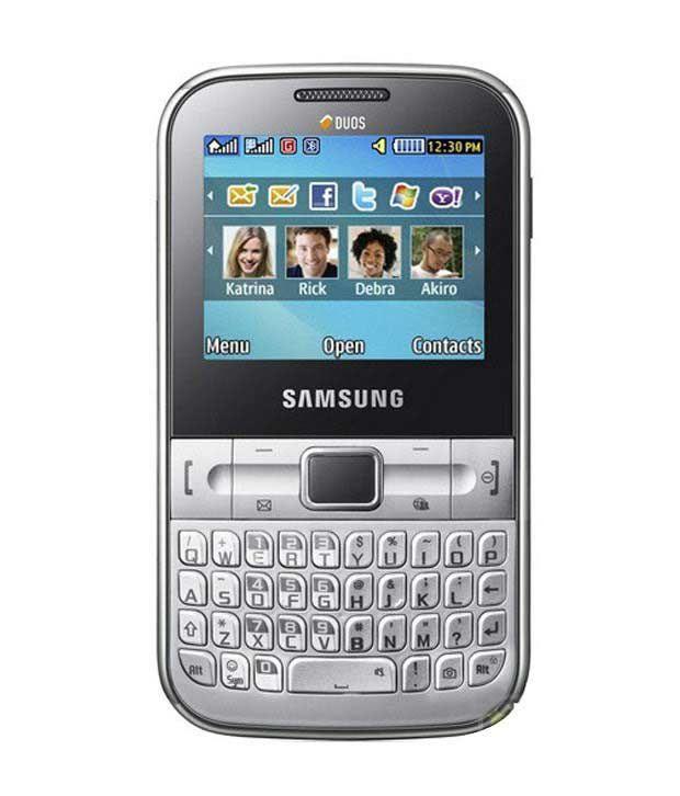 Samsung C3222 Metallic Silver