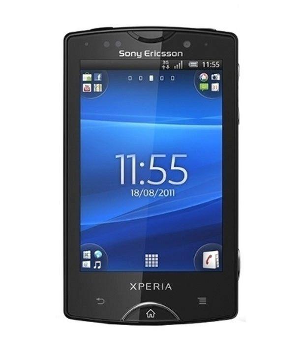 Sony Ericsson Mini Pro Black