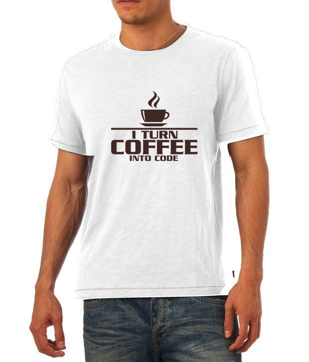 Turn Coffee to Code T Shirt