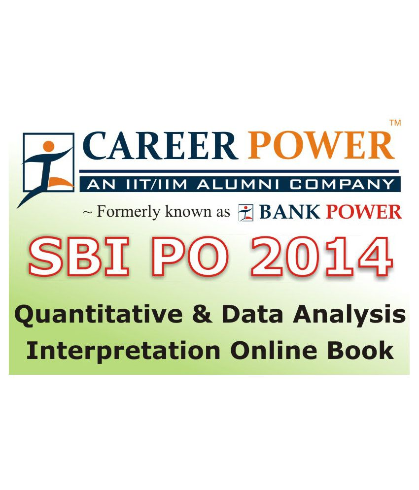 sbi po quantitative data analysis and interpretation online book sbi po quantitative data analysis and interpretation online book by career power