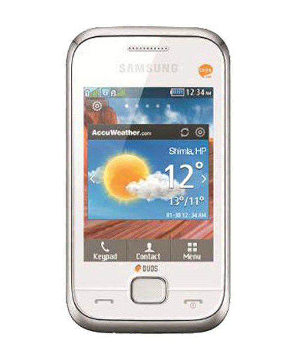 Samsung Champ Delux C3312  White