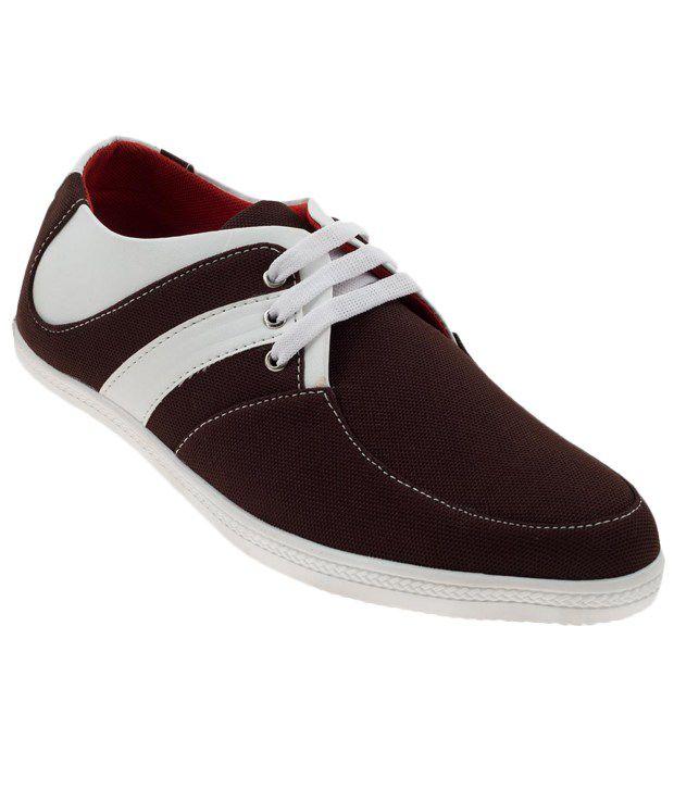 Zapatoz Brown Sneaker Shoes