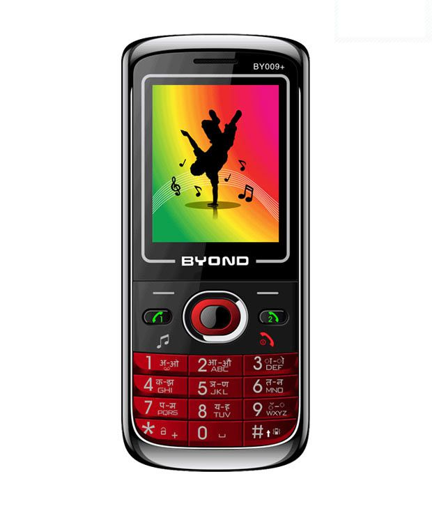 BYOND Dual Sim Mobile-BY 009+