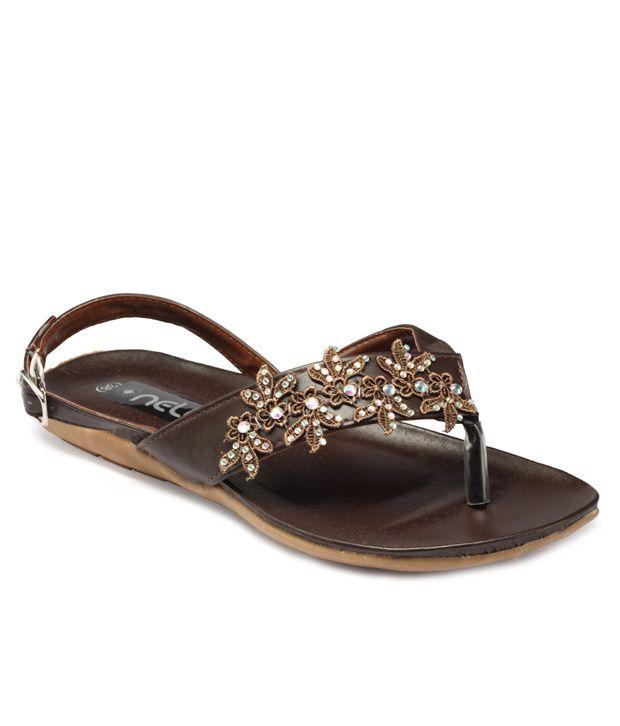FNB Brown Sandal