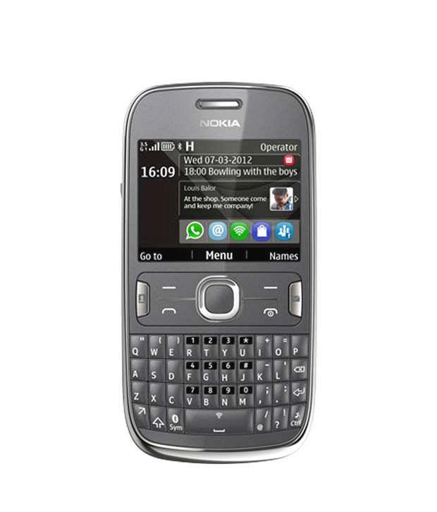 Nokia Asha 302 (D.Grey)