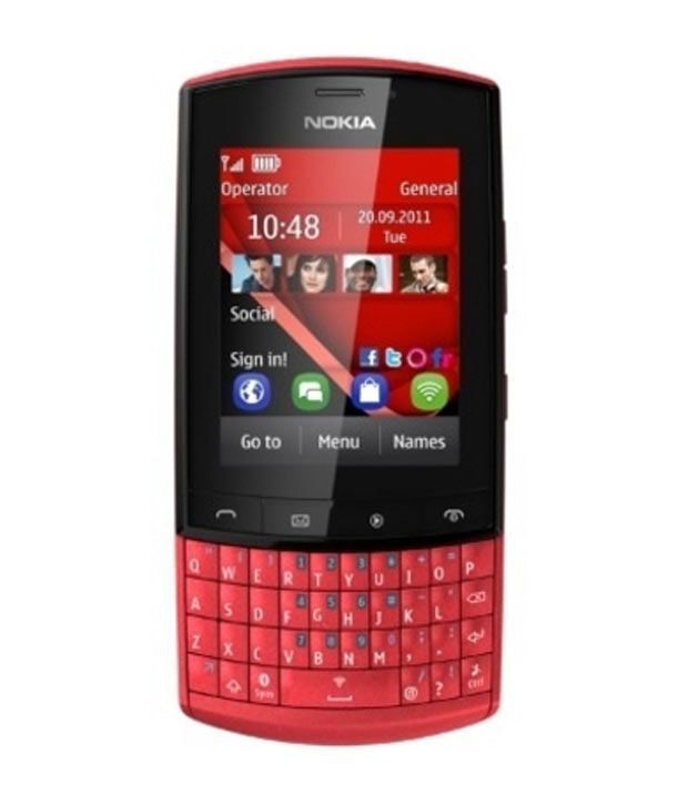 Nokia Asha303 (Red)