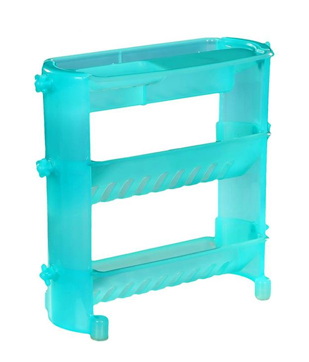 Shopper52 shelf organiser plastic toothbrush holders - Plastic bathroom storage containers ...