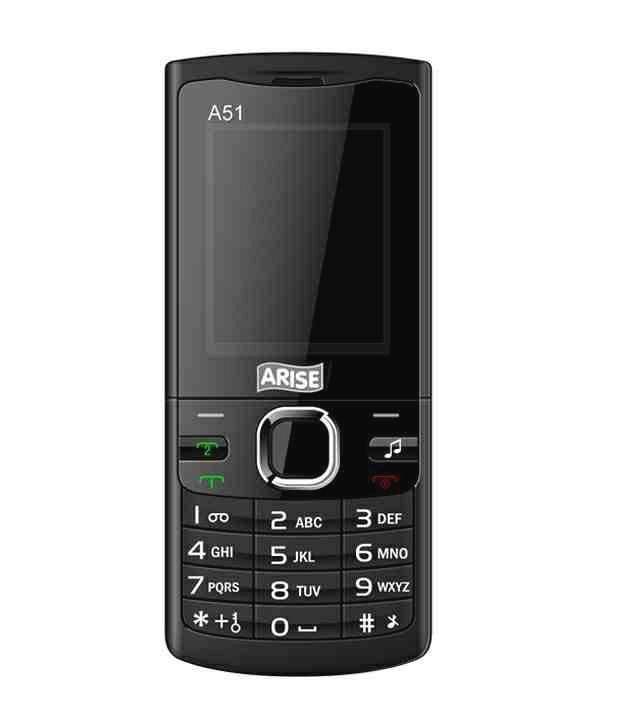 Arise Mobile A51 (Black)