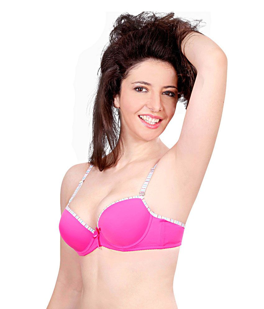 2f0fac9d93 Buy cleavage pink underwired bra online at best prices in india jpg 850x995  Bra top cleavage