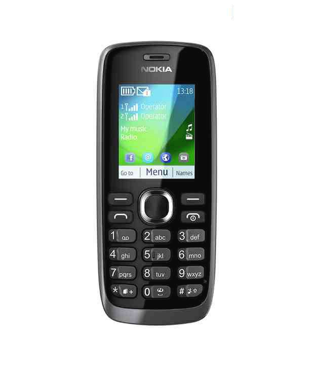 Nokia 112 (Dark Grey)