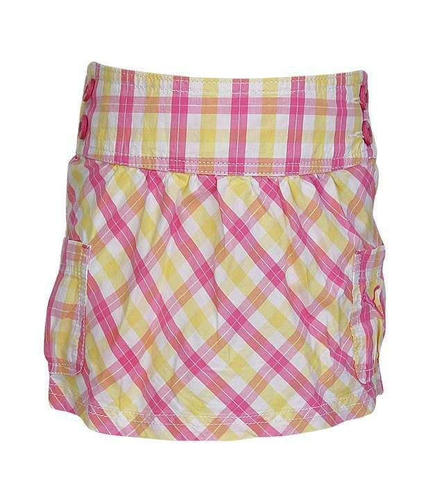 Puma Pink Skirt For Girls