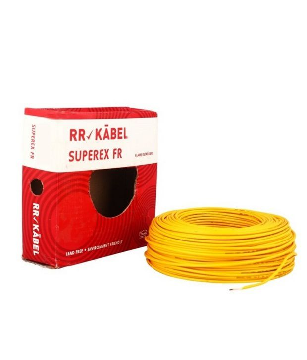 buy rr kabel pvc insulated single core cables 2 5mm red online at rh snapdeal com