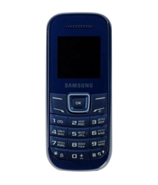 Samsung Guru E1200 Indigo Blue Feature Phone Online At