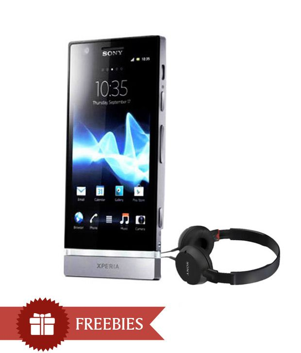 Sony Xperia P-LT22i (Silver)