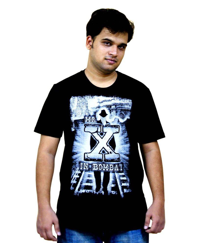Mr. X in Bombay Bollywood Tshirt