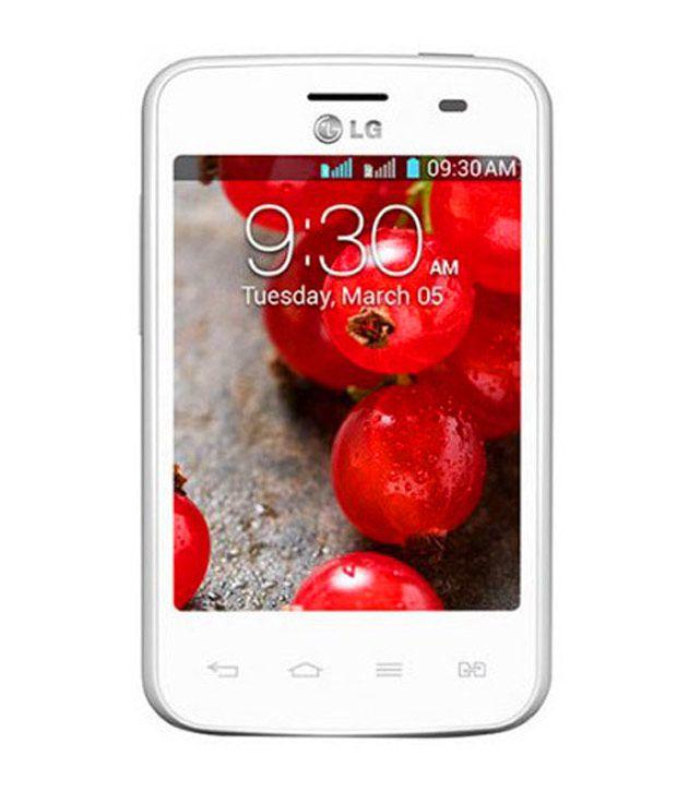 LG E420 4GB White