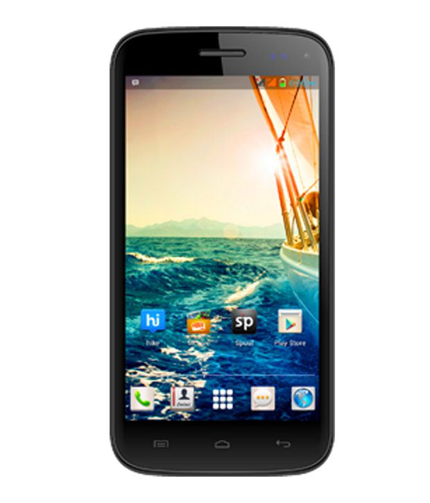 Micromax Canvas Turbo Mini A200 (4GB, Blue)