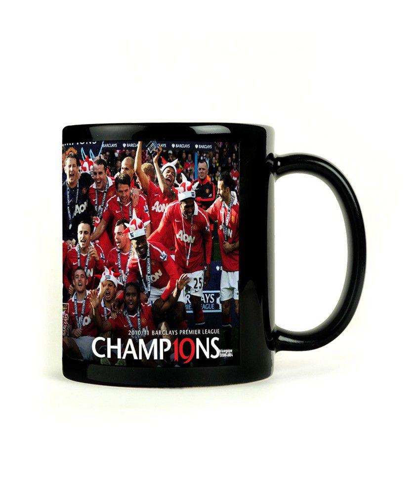 Bluegape Manu Champions Black Mug