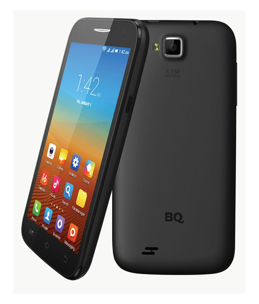 bq s60 black mobile phones online at low prices snapdeal. Black Bedroom Furniture Sets. Home Design Ideas