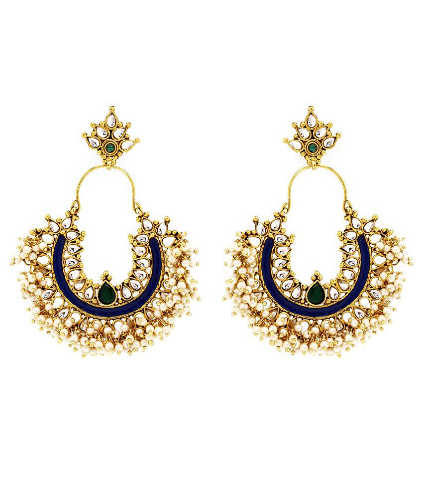 Parampara Classy Pearl Beads Earrings