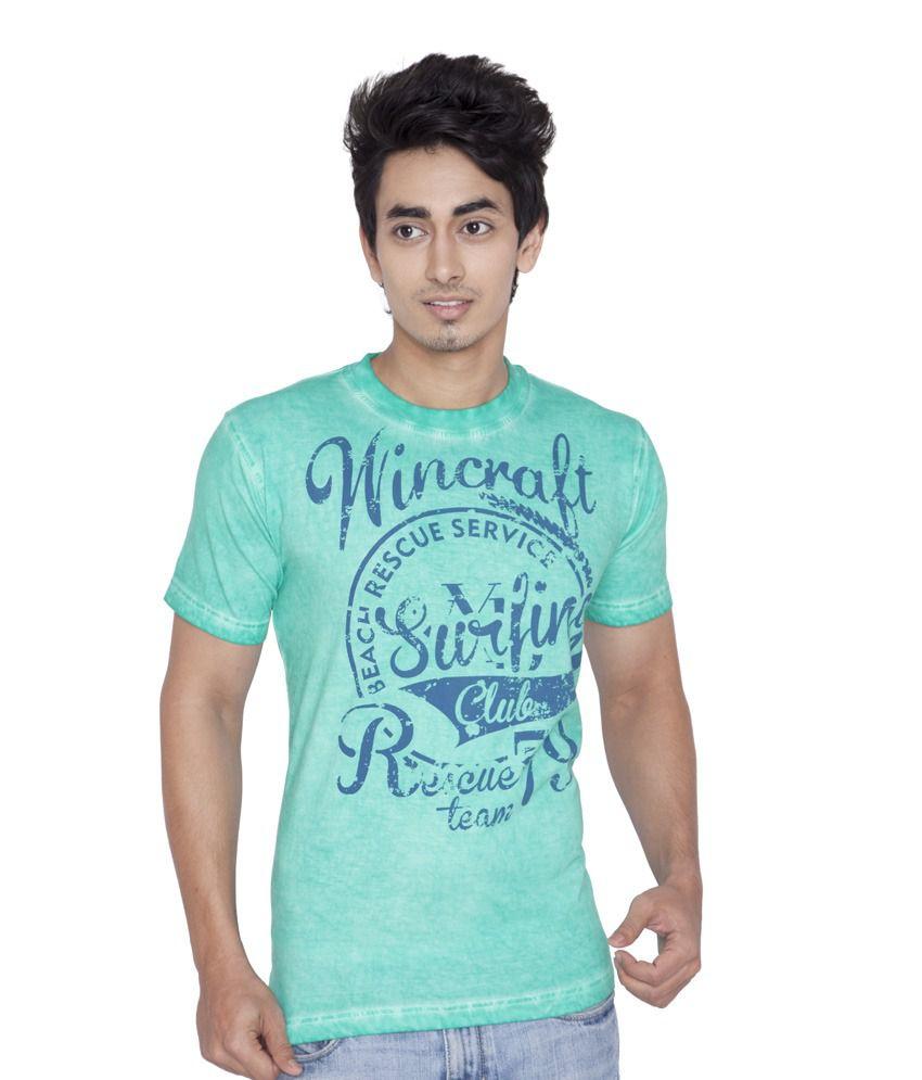 Wincraft Blue Half Cotton Round  T-Shirt