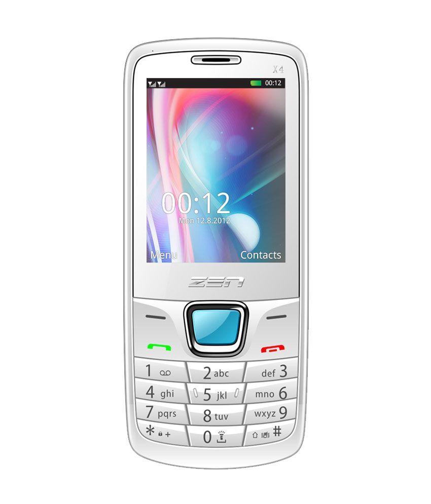 Zen X4 Auto Call Recorder White