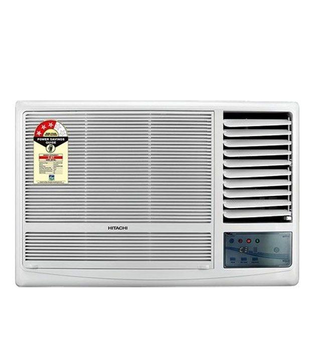 Hitachi 1 5 ton 3 star raw 318ktd kaze window air for Window 0 5 ton ac